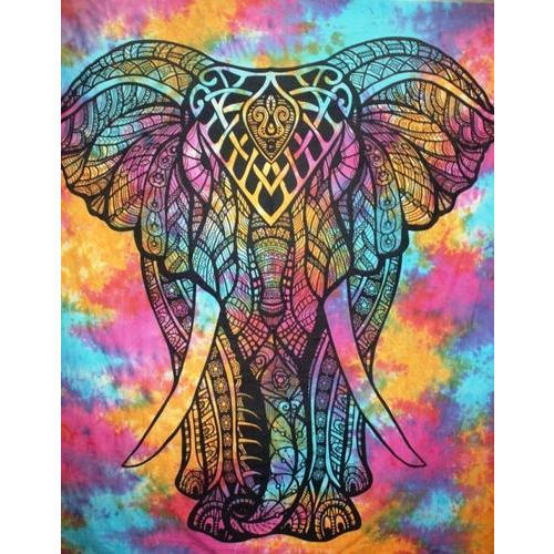 Colorful Elephant Tapestry Wall Hanging At Rs 350 Piece