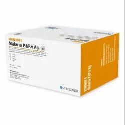Card Rapid SD Biosensor Malaria Kit, Model Name/Number: Standard Q, Size: 40 Test