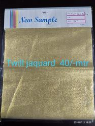 Twill Jaquards Fabrics