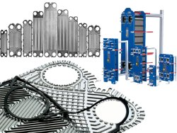SHE SS 316 Tranter Heat Exchangers, For Industrial