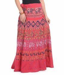 Designer Cotton Skirt