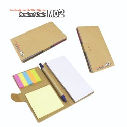 Eco Note Pad With Sticky Note