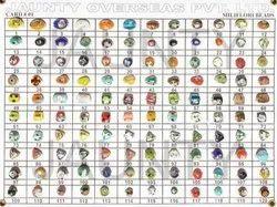 用于制作珠宝的迷你玻璃珠