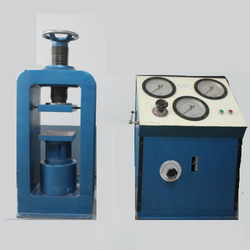 Compression Testing Machine with Three Gauges