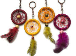 Dream Catcher Key Rings