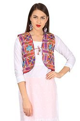 Ethnic Embroidered Waistcoat Kutch