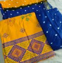 Unstitched Embroidery Suit