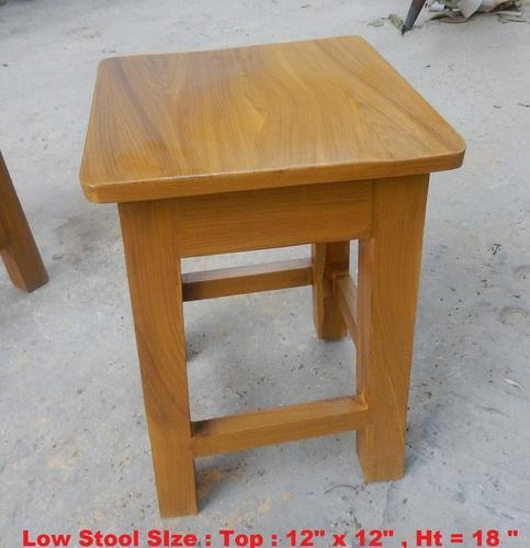 Magnificent Low Stool Customarchery Wood Chair Design Ideas Customarcherynet