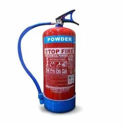 Stop Fire 9Kg BC Dry Chemical Powder Based Portable Fire Extinguisher