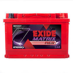 Exide MTREDDIN74 (74 AH)
