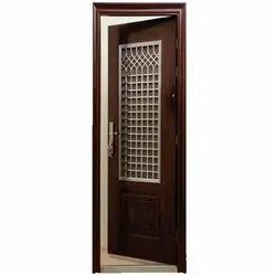 Hinged Steel Security Door, Size: 38x42 inch