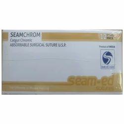 Seamchrom Chromic Catgut Suture Without Needle