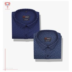 United 18 Cotton Men Formal Shirts, Handwash
