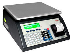 Bar Code Printing Weighing Machine