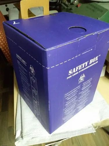 Blue Safety Packaging Box