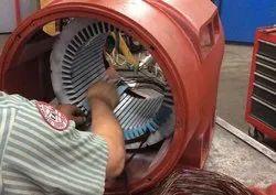 AC induction motor rewinding, jamnagar