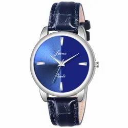 Jainx Blue Analog Watch For Women And Girls - JW655