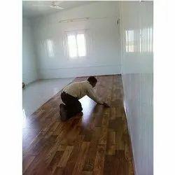 Brown Vinyl Flooring Service, in Local