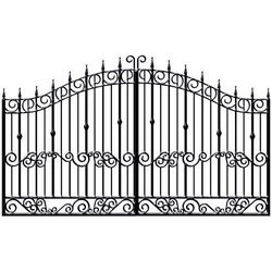 Cast Iron Main Gate