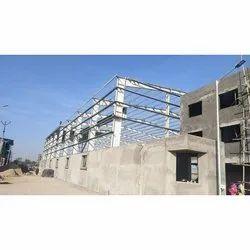 Heavy Duty Mild Steel Roofing Structure