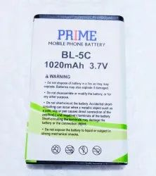 PRIME Nokia BL-5C Battery, for Mobile, Battery Type: Lithium-Ion