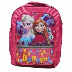 1000 Denier Polyester Fabric Pink Girls School Bag