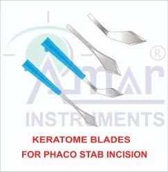 Ophthalmic Keratome Sharp Tip Blade