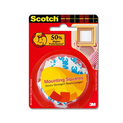 3M Scotch Double Sided Foam Tape Squares
