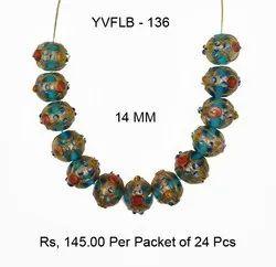 Lampwork Fancy Glass Beads - YVFLB-136