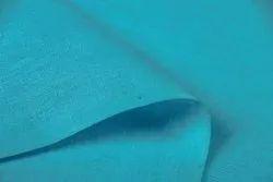 Blue 60/60 Linen Fabric 58 Inch Width, GSM: 50-100