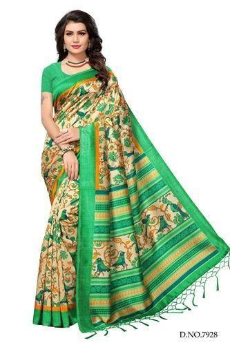 40bc8b3e81 Party Wear Cotton Mysore Silk Saree, Rs 350 /piece, Leranath Fashion ...