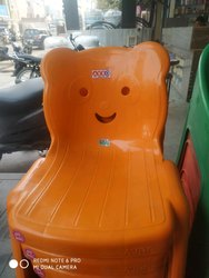 Kids Orange Colour Chair