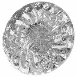 Round Glass Garment Buttons