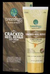Treeology Foot Heel Crack Repair Corrective Cream, Usage: Personal, Parlour