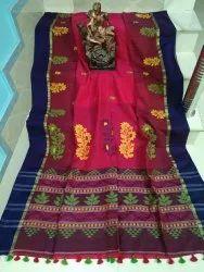 Handloom Cotton Khadi Ikkat Saree