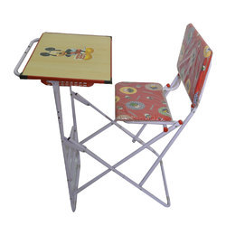 Foldable Study Table Chair Set At Rs 2000 Piece Kids Table Id 14607956088