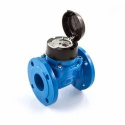Itron Stainless Steel Woltex Water Meter, For Industrial