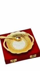 Gold Plated Platter Diwali Gifts
