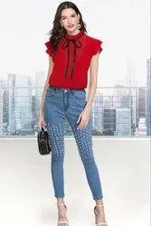 Vincy Fashion Rayon Designer Tops