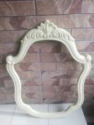PVC White Designer Vanity Mirror Frame