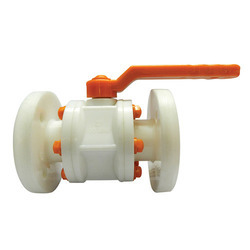 PP Flanged Ball Valve
