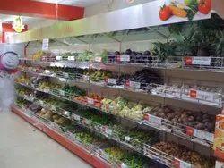 Vegetables Rack, For Supermarket