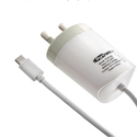 Portronics POR 539 2.4A Adapter With Micro USB Cable (white)