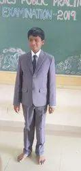 Ar,fashionsuit Regular Fit School Blazer Full suit