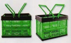 Folding Basket Green 450ml Code Nw 428