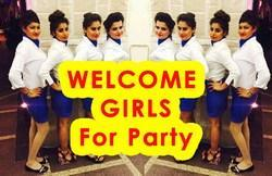 Welcome Girls For Event