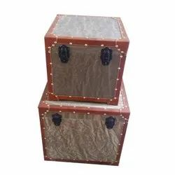 Square Wooden Storage Box Rs 5000