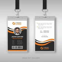 Double Sided White PVC ID CARD, 2 g
