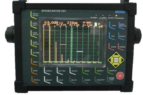 Digital Ultrasonic Axle Tester