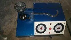 Bursting Strength Tester Single head double Gauge Manual